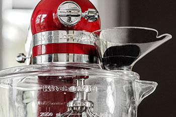 Spritzschutz für KitchenAid Glasschüssel